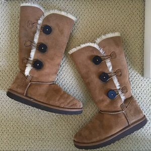 Women's UGG Bailey Button Genuine Shearling Boot
